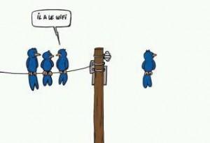 il a le wifi